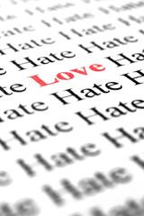 Love among hate