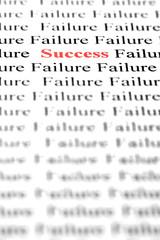Success amongst failure