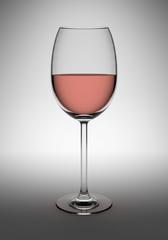 Verre de vin rosé 2
