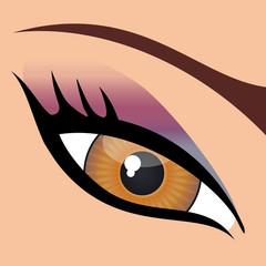 Oeil_Maquillage_Vert
