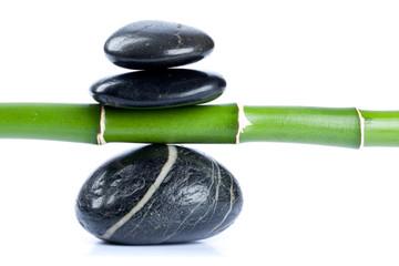 Galets zen et bambou