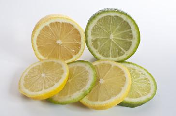 Studio captured Lemon and Lime Slices