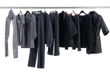 Fashion clothing rack display