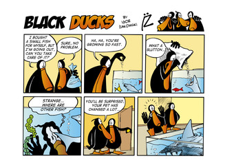 Garden Poster Comics Black Ducks Comic Strip episode 49