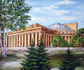 Opera and ballet theatre, Novosibirsk
