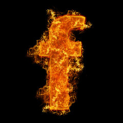Fire small letter F