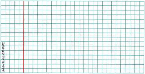 Feuille petits carreaux vierge fichier vectoriel libre for Feuille simple grand carreaux