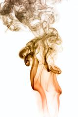 Fototapeta Abstract background of beautiful color smoke waves.