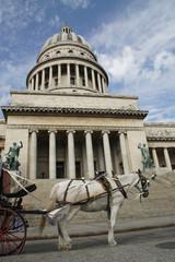 Fotobehang Havana Capitolo Havanna