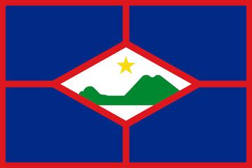 Wall Mural - Sint Eustatius Flag