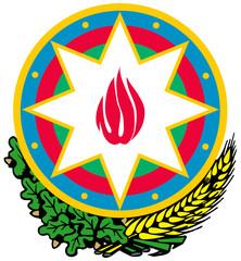 Fototapete - Azerbaijan Coat of Arms