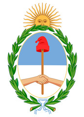Wall Mural - Argentina Coat of Arms