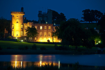famous irish castle hotel,west coast ireland