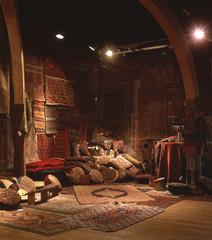 Oriental rug Bazaar in New York City loft