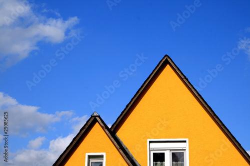 Doppelhaushälfte Dach Wohnung Miete Stockfotos Und Lizenzfreie