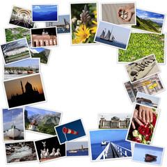 Urlaubsbilder Collage