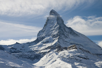Wall Mural - Matterhorn view from sourrounding mountains
