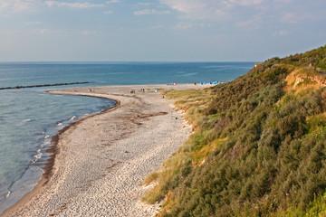 Fototapete - Ostseeküste bei Ahrenshoop, Fischland (Baltic Sea, coast)