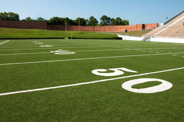 Wall Mural - American Football Field