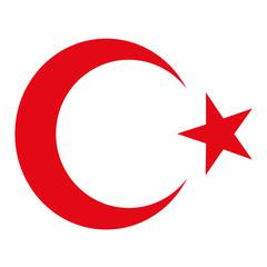Fototapete - Turkey National Symbol