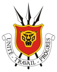 Fototapete - Burundi Coat of Arms