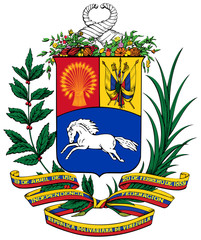 Fototapete - Venezuela Coat of Arms