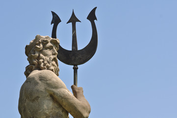 Poseidon with Triton from Atlantis