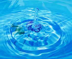 Detail of water drop