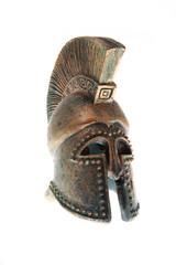 Greek helmet.