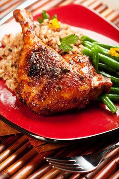 Tamarind Barbecue Duck
