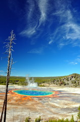 The Grand Prismatic Spring, Yellowstone National Park