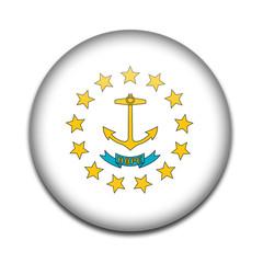 Chapa bandera Rodhe Island
