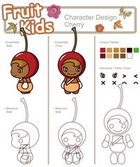 Cartoon Fruit Character 4