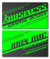 business cards set 51