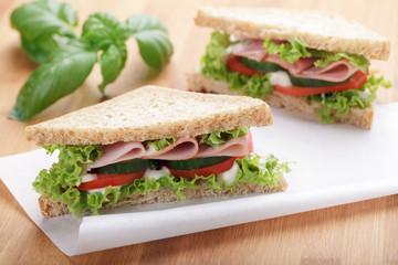 Schinken Sandwich