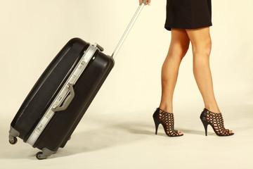 la valise, je pars