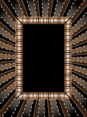 Old-fashioned  frame  vector