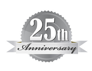 25th Anniversary Seal