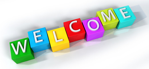 Colorful Welcome