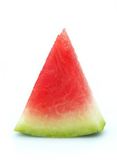 Ripe lobe of a water-melon
