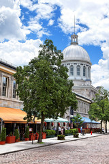 Marché Bonsecours in Montreal, Kanada
