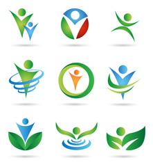 Gesundheitswesen Logos
