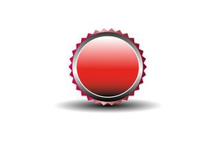 Blank Button Vektor
