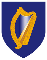 Ireland Coat Arms