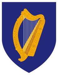 Fototapete - Ireland Coat Arms