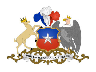 Wall Mural - Chile Coat of Arms