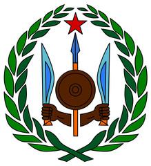 Fototapete - Djibouti Coat of Arms