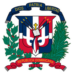 Wall Mural - Dominican Republic Coat of Arms