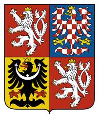 Fototapete - Czech Republic Coat Arms