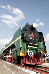 Old russian train